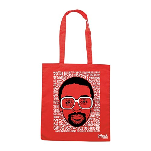 Borsa Spike Lee - Rossa - Famosi by Mush Dress Your Style
