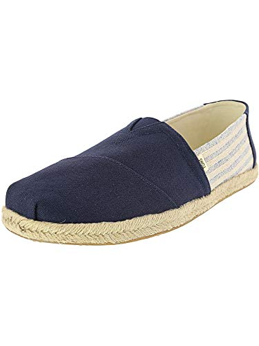 TOMS Men's Alpargata Navy Ivy League On Rope 11 D US ()