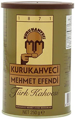 Mehmet Efendi Turkish Coffee, 250 Gram Can (Coffee Turkish)