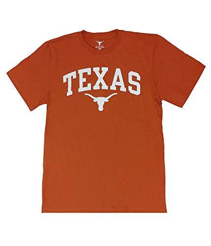 Elite Fan Shop Texas Longhorns Tshirt Arch Orange - XXL