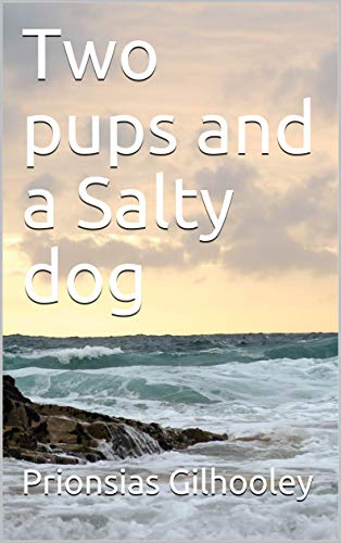 Two pups and a salty sea dog
