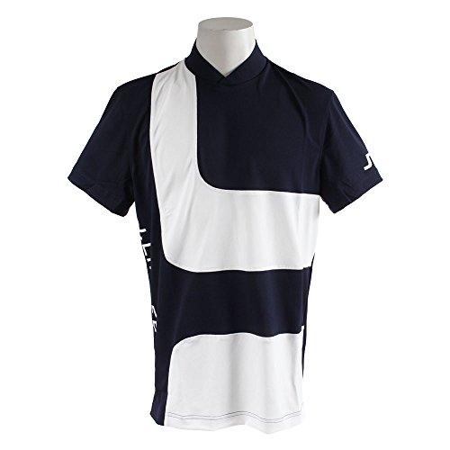 ポロシャツ メンズ Jリンドバーグ J.LINDEBERG 日本正規品 2018 春夏 ゴルフウェア L(48) ネイビー(098) 071-27445