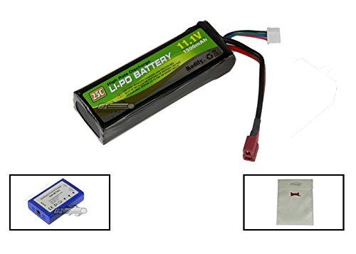 Modify 11.1v 1500mAh Li-Po 25C Battery w/ Deans Plugs by Modify