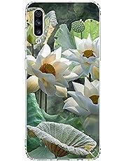 Hoesje Samsung Galaxy A30s/A50s/A50 Hoezen TPU Siliconen Doorzichtig Zacht Geval Bloem Blad Panda Baby Olifant Dier Motief Hoes Ultralicht Anti Schok Achterkant voor A30s/A50s