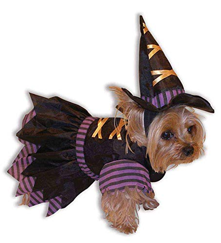 Forum Novelties Witch Doggie Costume - XS/Small -
