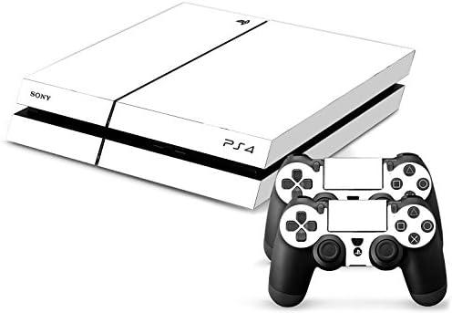 Sony PS4 Playstation 4 Skin Design Foils Pegatina Set - White Pure Motivo: Amazon.es: Videojuegos