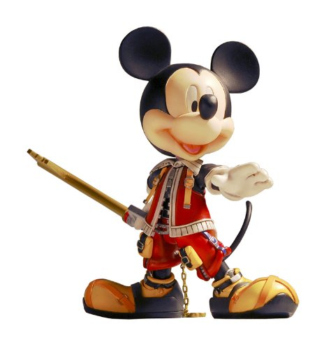 Kingdom Hearts 2 Play Arts King Mickey Valor Form Action Figure