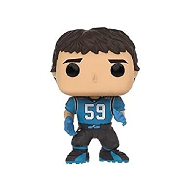 Funko NFL Carolina Panthers Funko POP! Sports Greg Olsen, Cam Newton & Luke Kuechly Exclusive Vinyl Figure 3-Pack: Toys & Games