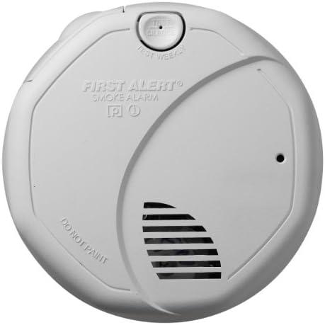 First Alert SA320CN Smoke Detector, 1.5 V, Aa, Alkaline