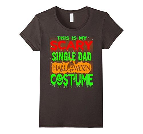 Womens Halloween Gift This is my Scary SINGLE DAD Halloween costume XL Asphalt