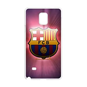 Samsung Galaxy Note 4 Cell Phone Case White Barcelona Football krr