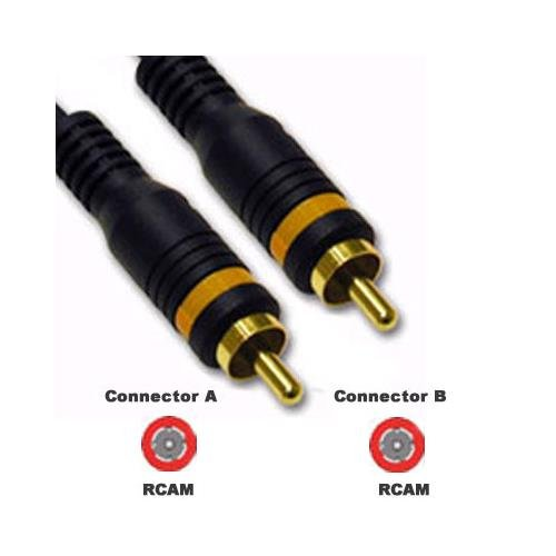 25ft Composite Video Cable Rca/Rca M/M Velocity by C2G
