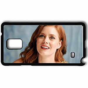 Personalized Samsung Note 4 Cell phone Case/Cover Skin Amy Adams Glance Black
