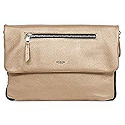 KNOMO London Mayfair Luxe Elektronista Digital Clutch Bag, Gold by Knomo