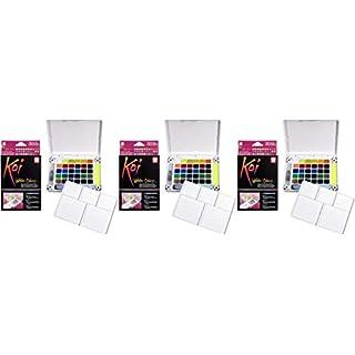 Sakura XNCW-30N Koi Field 30 Assorted Watercolors with Brush Sketch Set-3 Pack