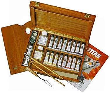 Caja maletín ÓLEOS TITAN Extra Finos 17 und.: Amazon.es: Hogar