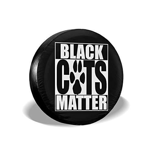 Love Taste Black Cat Halloween Spare Tire Cover