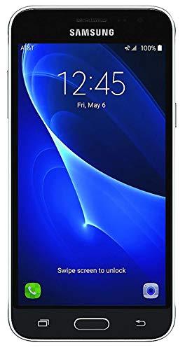 Samsung Galaxy J3 J320A 16GB AT&T Unlocked 4G LTE Quad-Core Phone - Black (Renewed) (4g Lte Samsung Hotspot Mobile)