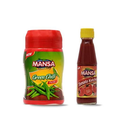 MANSA Green Chilli Pickle (1KG)