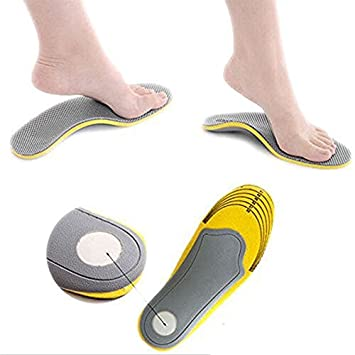 Insoles Inserts Orthotics Pads with Arch Support for Flat Feet Plantar Fasciitis