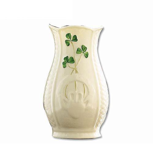 Belleek Irish Gaelic Vase