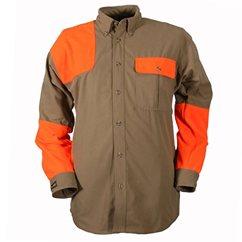 Gamehide Upland Shooting Shirt, Tan/Orange, XL