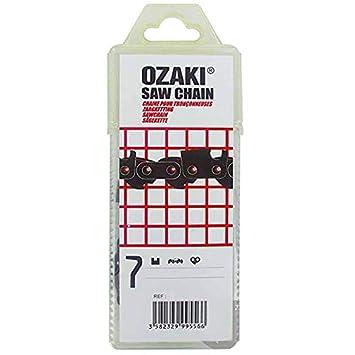 OZAKI Semi-Pro - Cadena para motosierra (3/8