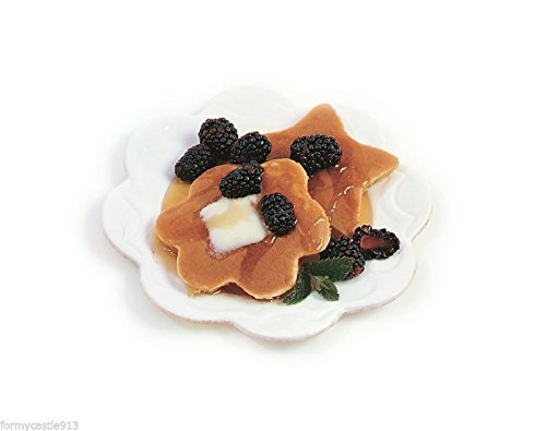 2 Pack Nonstick Star and Flower Egg Pancake Rings with Wood Handles