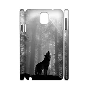 Wolf Unique Design 3D Cover Case for Samsung Galaxy Note 3 N9000,custom cover case ygtg601228