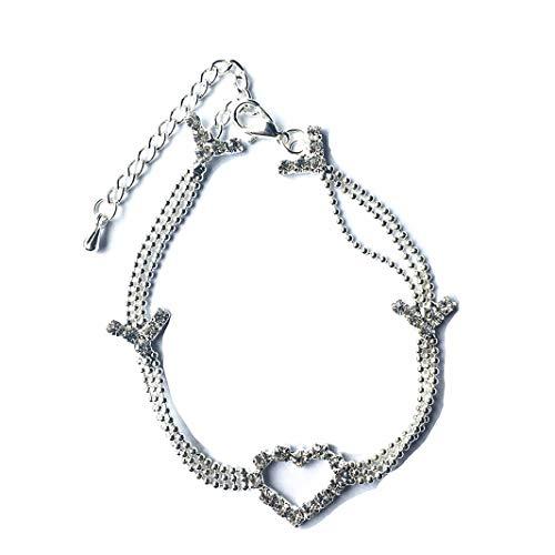 Sperrins Chain Heart Ankle...