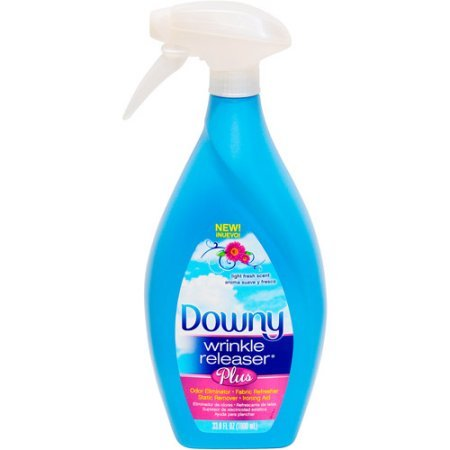Downy Wrinkle Releaser Plus, Light Fresh Scent, 33.8 Fluid Ounce