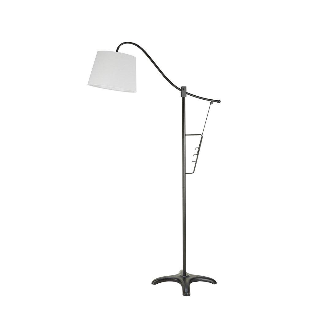 INK Plus IVY II154-0058 Vienna Floor Lamp Silver INK+IVY