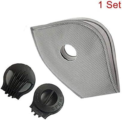 Gelentea PM2.5 Filtros de cubierta frontal filtros de carbón ...