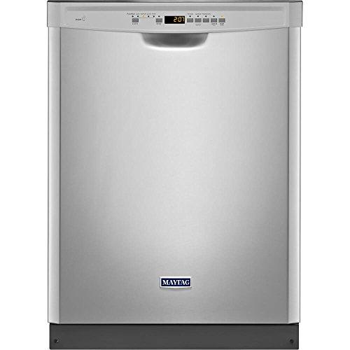 24' 50 dBA Control Dishwasher with 4-Blade Finish: Monochromatic...