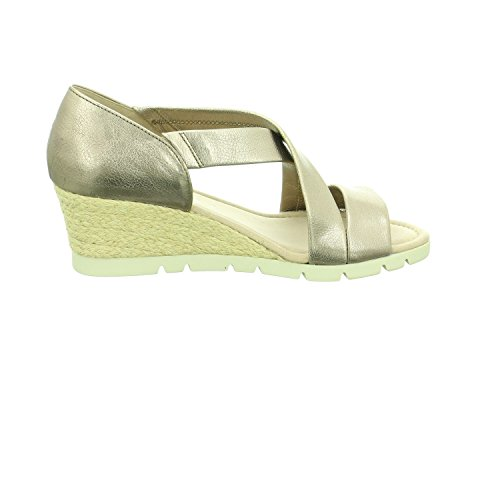 Gabor Women's Comfort Sport Ankle Strap Sandals Pewter b0poOx753