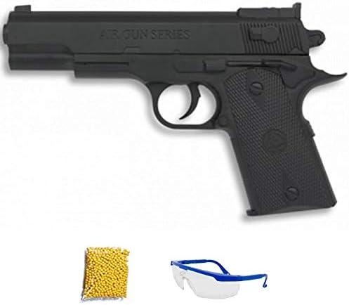 P405 Pistola 1911 Hop up. Pistola de Airsoft Calibre 6mm (Arma Aire Suave de Bolas de plástico o PVC). Sistema: Muelle. <3,5J