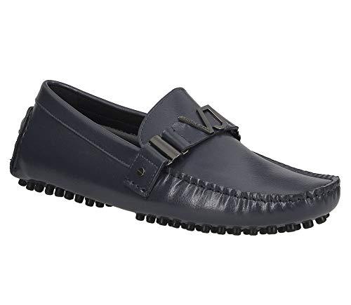 Jeans Linea 1 Leather Dis Versace Grainy Fondo Blue Drivers gFHqAx