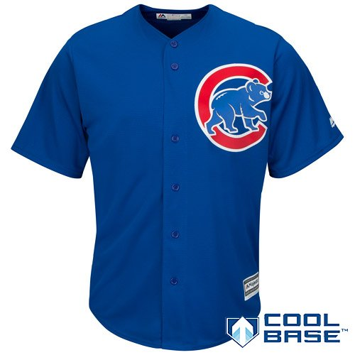 Chicago Cubs MLB Youth Cool Base Alternate Jersey Blue (Youth Large 14/16)