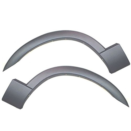 Koolzap For 02-05 Explorer Front Fender Flare Wheel Opening Molding Trim Left Right SET PAIR