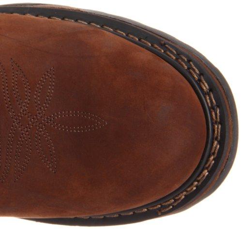 Bota De Trabajo Impermeable Para Hombre Tony Lama Botas Tw1018 Tan Cheyenne