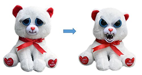 William Mark Feisty Pets Bear Taylor Truelove Valentine Stuffed Attitude Plush Animal