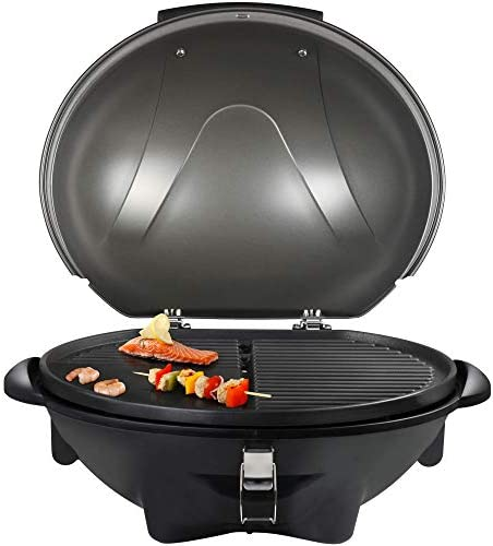 Barbecue électrique Tristar BQ-2816 – Avec pied – Grille en aluminium coulé sous pression