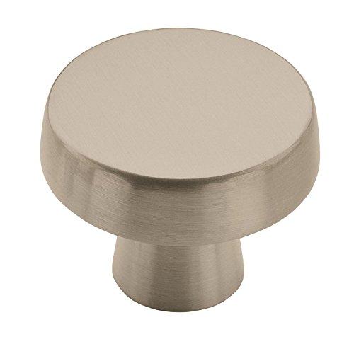 Amerock BP55272G10 Blackrock knob, 1-5/8 inch (41 Millimeter) Diameter, Satin Nickel