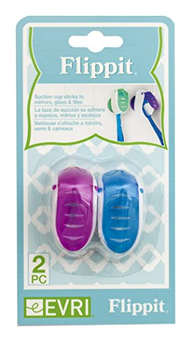 Flippit Antibacterial Toothbrush Covers Colors product image
