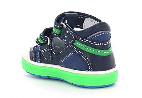 Amazon.com | Bartek Boys Leather T-Strap Shoes Closed Toe Sandals 81885/X81 Ocean Green (Toddler/Little Kid) | Shoes