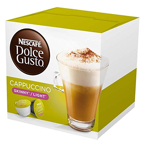 Nescafe Dolce Gusto Capsules, Skinny Cappuccino, 16 ct
