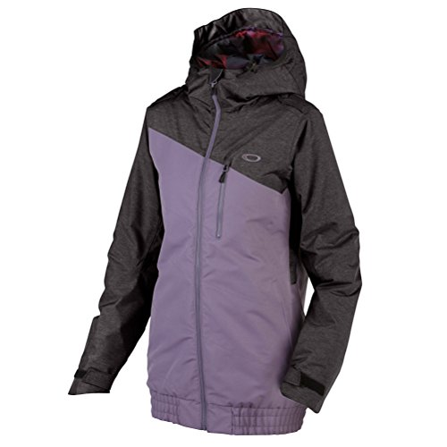 Oakley Women's Quebec Insulated Jacket, Purple Sage, - Discount Oakley Clothing