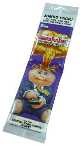 2013 Topps GPK Garbage Pail Kids Trading Card Stickers BN Brand New Series 3 Retail Jumbo Pack - 23 - Card Stickers Trading