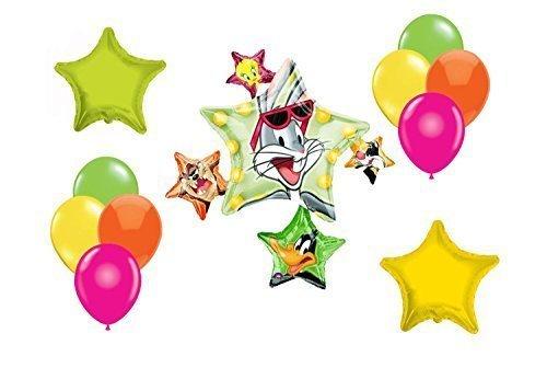 Looney Tunes Mylar Latex Balloons~12ct