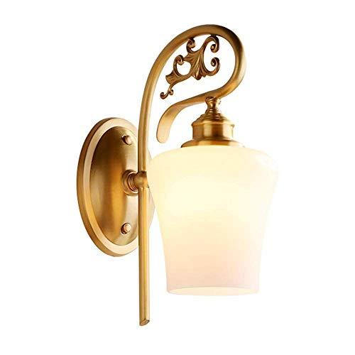 BOSSLV Wall Wash Lights Lamps Wall Lights Sconce Simple Copper European Living Room Bedroom Bedside Simple European